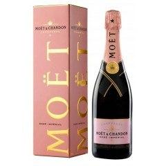 CHAMPAGNE MOET ET CHANDON - BRUT ROSE - AVEC ETUI (France - Champagne - Champagne AOC - Champagne Rosé - 0,75 L)