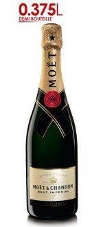 CHAMPAGNE MOET ET CHANDON - Brut Impérial - Demi-bouteille (France - Champagne - Champagne AOC - Champagne Blanc - 0,375 L)