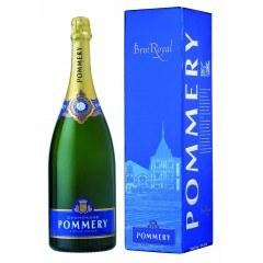 CHAMPAGNE POMMERY - MAGNUM BRUT ROYAL - AVEC ETUI (France - Champagne - Champagne AOC - Champagne Blanc - 1,5 L)