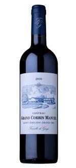 CHATEAU GRAND CORBIN MANUEL 2010 (France - Vin Bordeaux - Saint-Emilion Grand Cru AOC - Vin Rouge - 0,75 L)