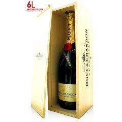 CHAMPAGNE MOET ET CHANDON - Brut Impérial - Mathusalem 6L (France - Champagne - Champagne AOC - Champagne Blanc - 6 L)