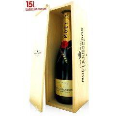 CHAMPAGNE MOET ET CHANDON - Brut Impérial - Nabuchodonosor 15 L (France - Champagne - Champagne AOC - Champagne Blanc - 15 L)