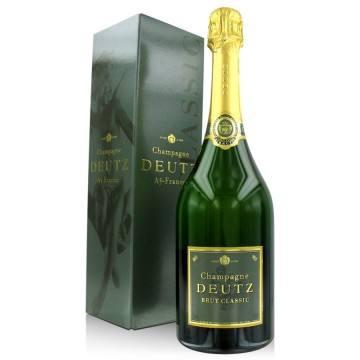 CHAMPAGNE DEUTZ- BRUT CLASSIC - MAGNUM (France - Champagne - Champagne AOC - Champagne Blanc - 1,5 L)
