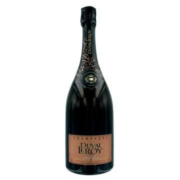 CHAMPAGNE DUVAL LEROY - PRESTIGE BRUT ROSE 1ER CRU (France - Champagne - Champagne AOC - Champagne Rosé - 0,75 L)